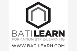 Logo officiel BATILEARN FORMATION BTP